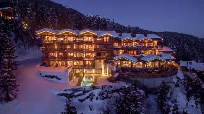 Lujo en temporada de esquí